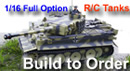 Special Commissions - We build Tamiya R/C tanks to order