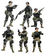 FOV Bravo Team 1/18 Vehicles & Figures