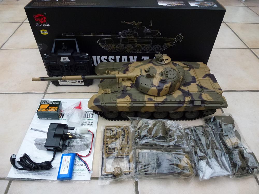 Radio Control & RC Toys Heng long Leopard 2A6 MBT shooting Smoking