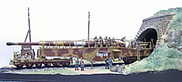 Limited Edition Giant 1/144 K5 Leopold Railway Gun