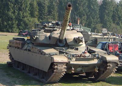 Main battle tanks Chieftain_400
