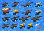 Takara Ships of the World Series #2 Submarines