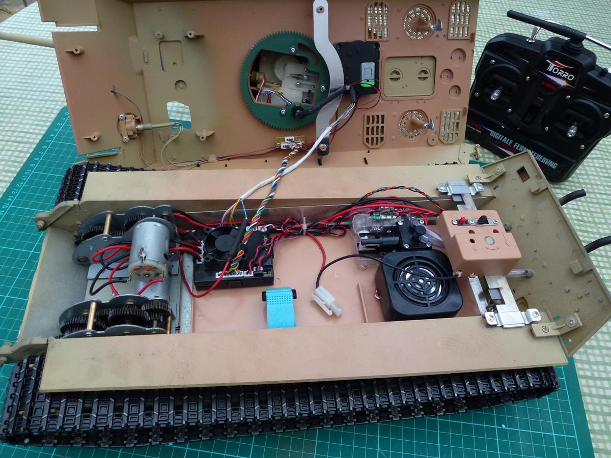 heng long rc tank instructions