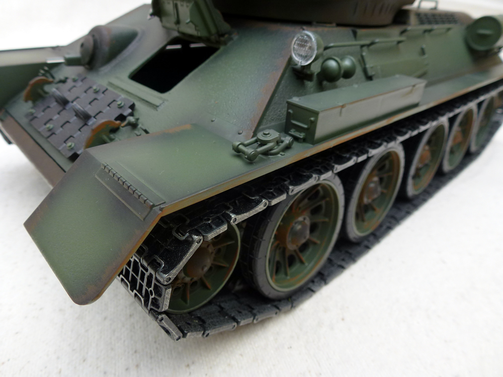 how to build rc tank treads